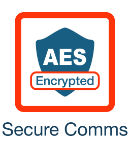 AES Encrypted Secure Communications