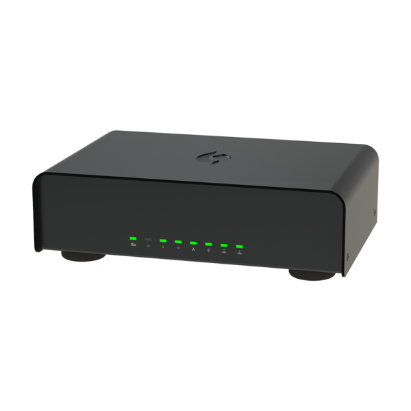 SolidNet Router - Angled Front View